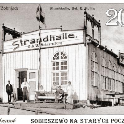 """Okładka Kalendarza """"Sobieszewo na starych pocztówkach 2019"""""""