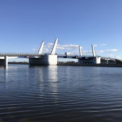 Nowy most w Sobieszewie zapewnia szybki dojazd na Wyspę Sobieszewską