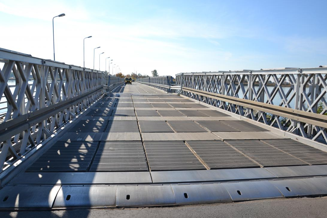 Nawierzchnia mostu Sobieszewskiego