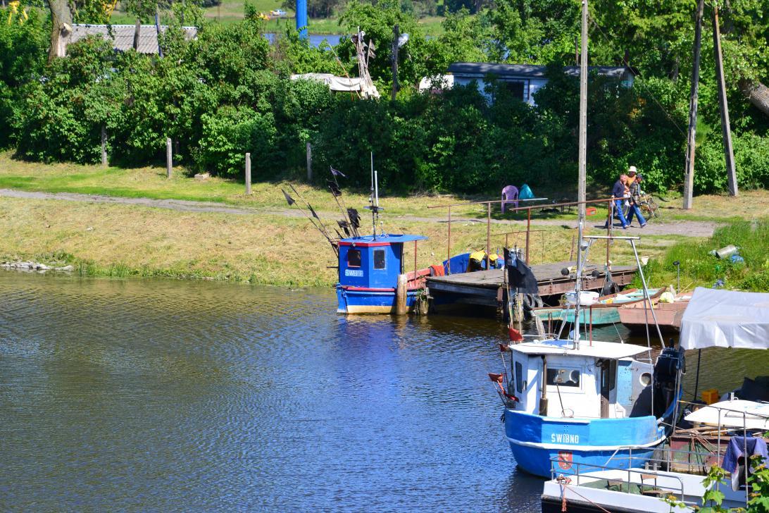 Ostatnie kutry rybackie w porcie Świbno