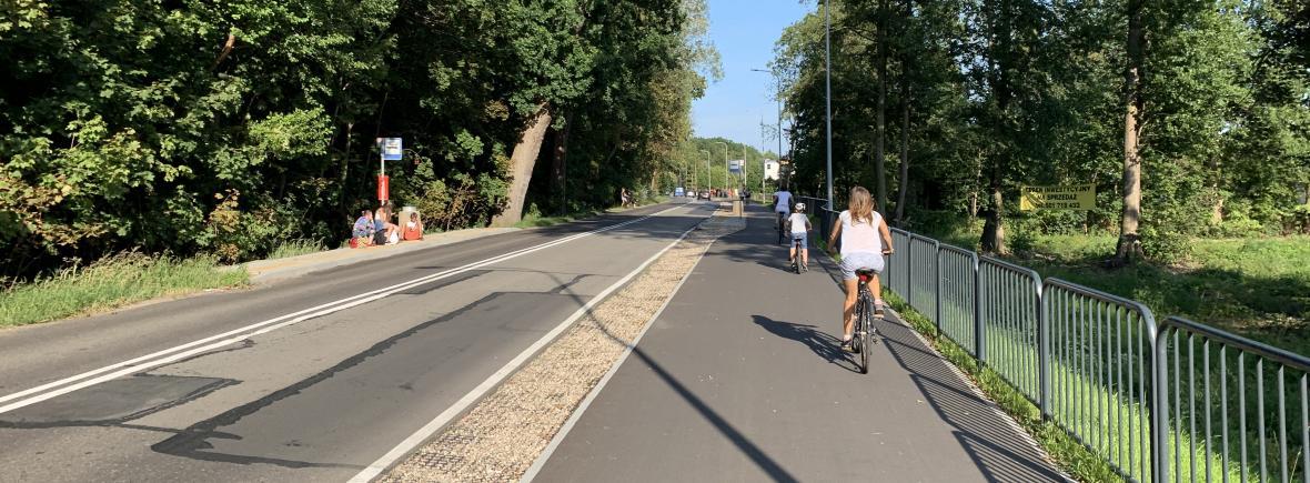 Nowa ścieżka rowerowa na Wyspie Sobieszewskiej - 7 km prawdziwej rowerostrady