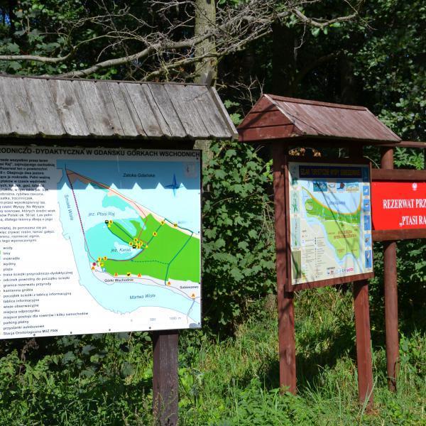 """Rezerwat przyrody """"Ptasi Raj"""" w Górkach Wschodnich"""